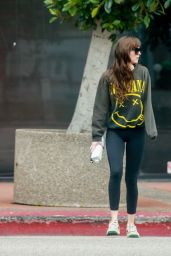 Dakota Johnson in Casual Attire 01/20/2020
