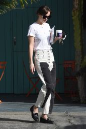Dakota Johnson in Casual Outfit 01/30/2020