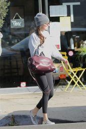 Dakota Johnson in Tights - Los Angeles 01/17/2020