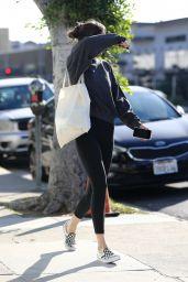 Dakota Johnson - Leaving the Gym in LA 01/10/2020