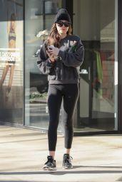 Dakota Johnson - Leaving Yoga Class in Studio City 01/23/2020