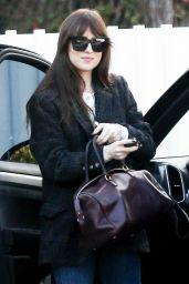 Dakota Johnson Street Style - Out in Los Angeles 01/21/2020
