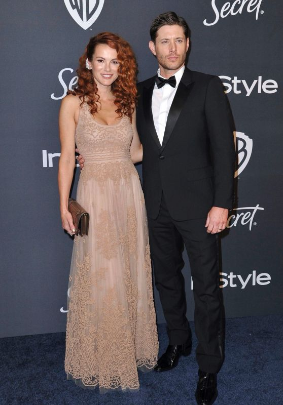 Danneel Ackles and Jensen Ackles – 2020 Warner Bros. and InStyle Golden Globe After Party