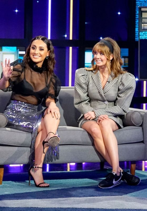 Debby Ryan and Francia Raisa - A Little Late with Lilly Singh in Hollywood 01/14/2020