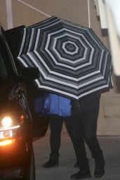 Demi Lovato - Leaving a Wednesday Night Church Service in Beverly Hills 01/08/2020
