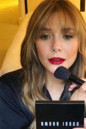 Elizabeth Olsen - Social Media 01/28/2020