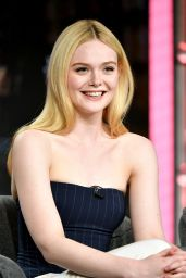 Elle Fanning - Hulu Panel at Winter TCA in Pasadena 01/17/2020