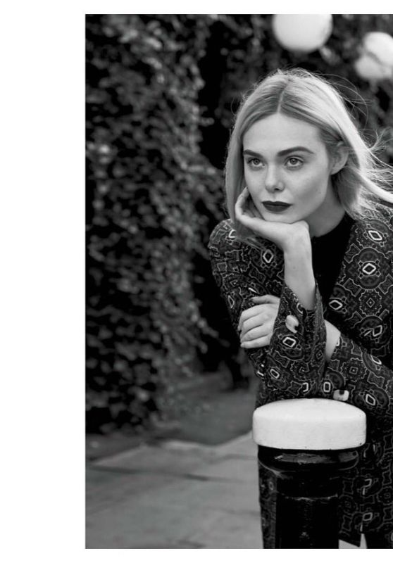Elle Fanning - Marie Claire Magazine February 2020 Photo