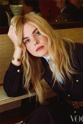 Elle Fanning - Vogue Magazine, February 2020 Photoshoot
