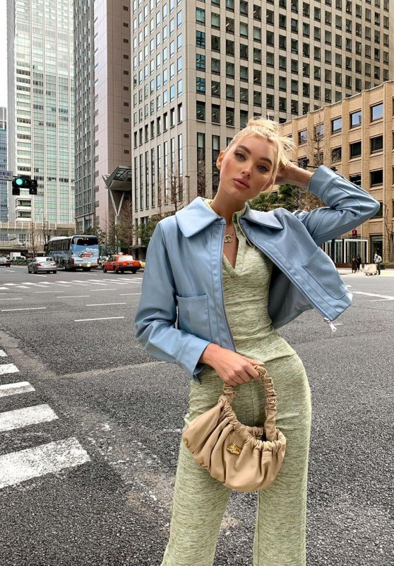 Elsa Hosk Street Style 01/16/2020