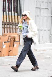 Elsa Hosk Winter Street Style 01/27/2020