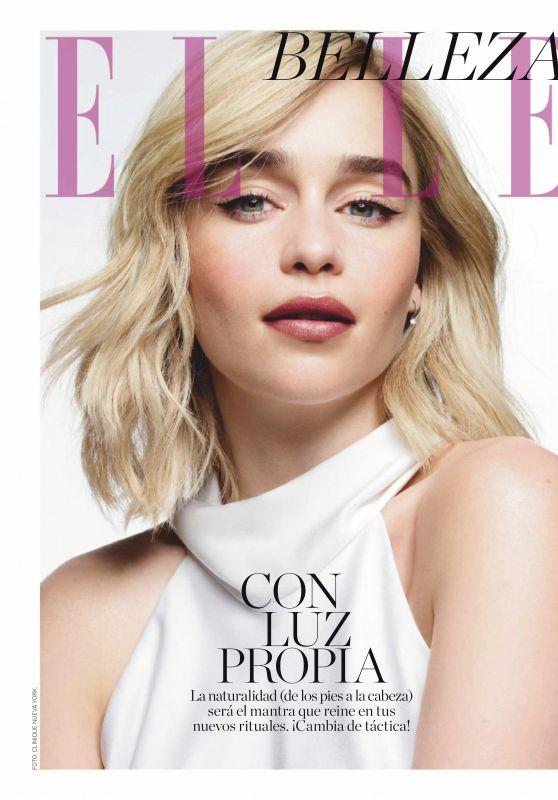 Emilia Clarke - Elle Magazine Spain February 2020 Issue