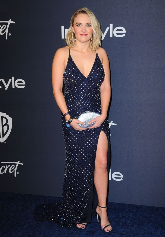Emily Osment – Warner Bros. and InStyle 2020 Golden Globe After Party