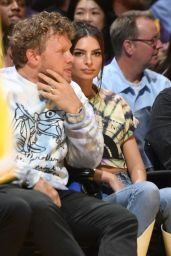 Emily Ratajkowski – Cavaliers vs Lakers at Staples Center in LAs 01/13/2020