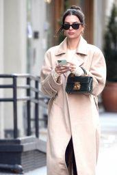 Emily Ratajkowski Street Style - New York 01/30/2020