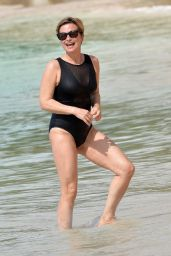 Emma Forbes in a Swimsuit - Holiday in Barbados 01/01/2020