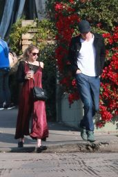 Emma Roberts - Go Out For Breakfast in Los Feliz 01/11/2020