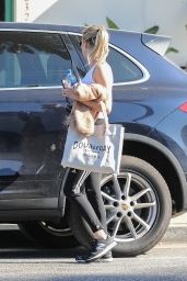 Emma Roberts - Leaving a Gym in West Hollywood 01/10/2020