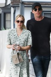 Emma Roberts - Shape House in Los Angeles 01/07/2020