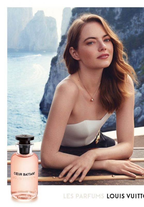 Emma Stone – Cœur Battant Fragrance for Louis Vuitton 2019 Campaign (Part III)
