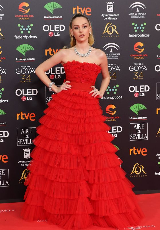 Ester Exposito – Goya Cinema Awards 2020 in Madrid