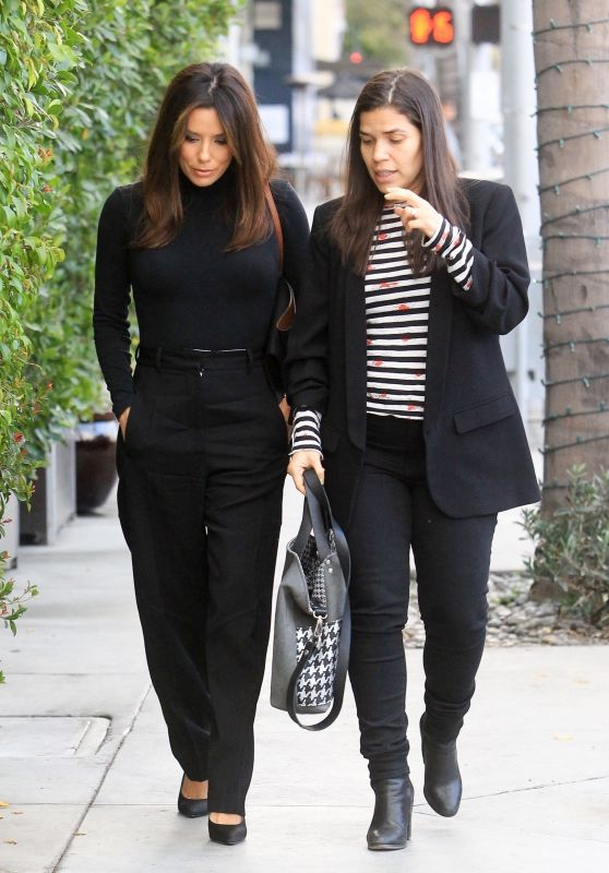 Eva Longoria and America Ferrera - E Baldi in LA 01/16/2020