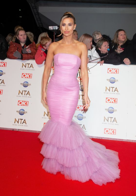 Ferne McCann – National Television Awards 2020 in London