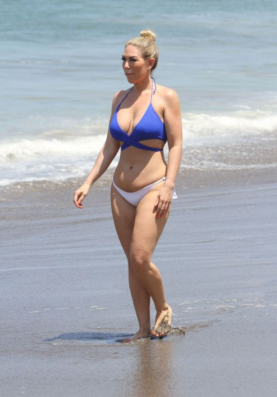 Frankie Essex in a Bikini - Holiday in Tenerife 01/01/2020