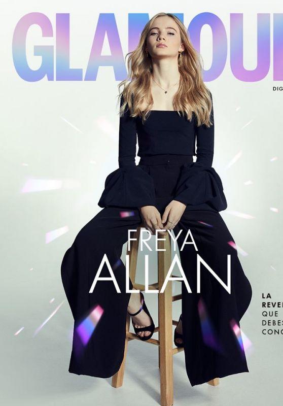 Freya Allan - Glamour Mexico 2020