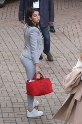 Georgina Rodriguez - Arrives at the Italian Song Festival 01/25/2020