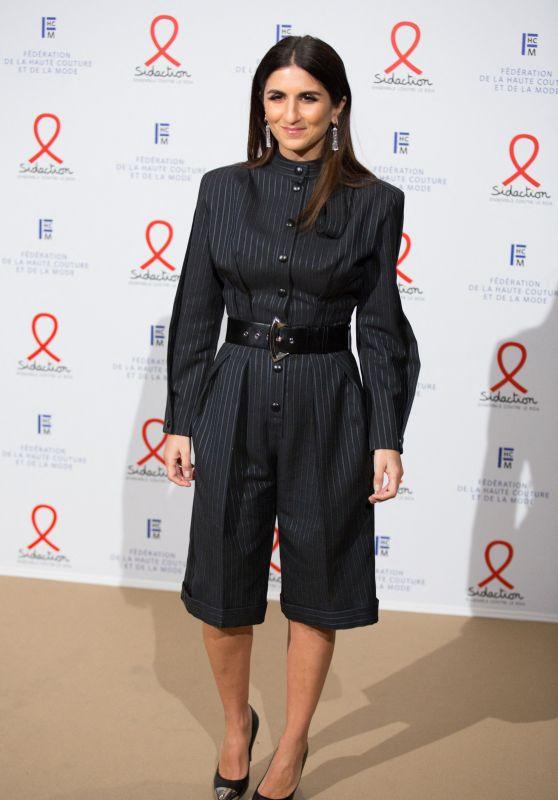 Geraldine Nakache – Fashion Dinner for AIDS Sidaction Association in Paris 01/23/2020