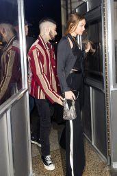 Gigi Hadid and Zayn Malik - Eleven Madison Park in New York 01/12/2020