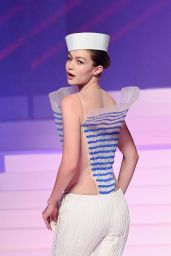 Gigi Hadid – Jean-Paul Gualtier Haute Couture Show at Paris Fashion Week 01/22/2020