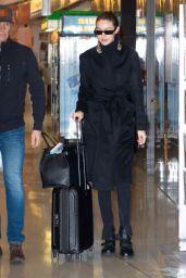 Gigi Hadid - JFK Airport in NYC 01/24/2020