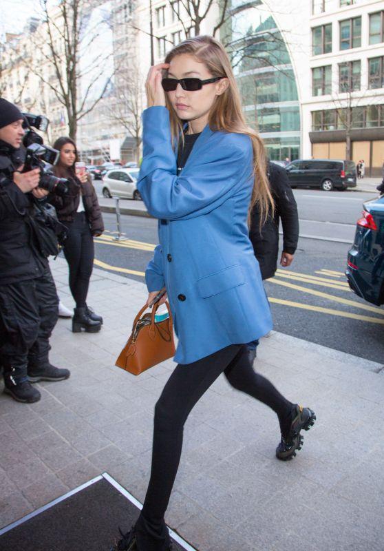 Gigi Hadid Looks Stylish - Paris 01/19/2020
