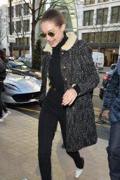 Gigi Hadid - Out in Paris 01/21/2020