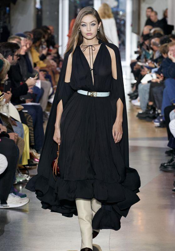 Gigi Hadid - Runway for Lanvin Menswear Show in Paris 01/19/2020