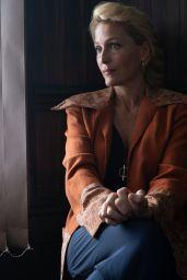 "Gillian Anderson - ""Sex Education"" Season 2 Photos, January 2020"