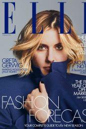 Greta Gerwig - ELLE Magazine UK February 2020 Cover and Photos