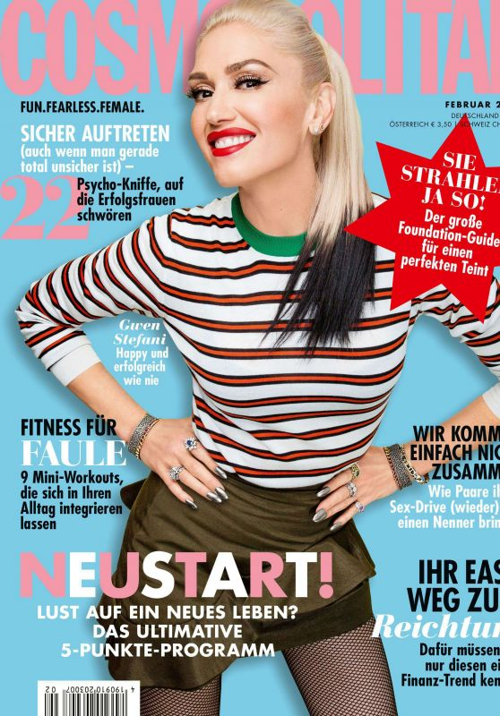 Gwen Stefani - Cosmopolitan Deutschland February 2020 Issue