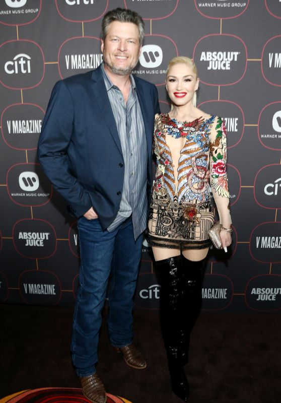 Gwen Stefani - Warner Music Group Pre-Grammy Party in Hollywood 01/23/2020