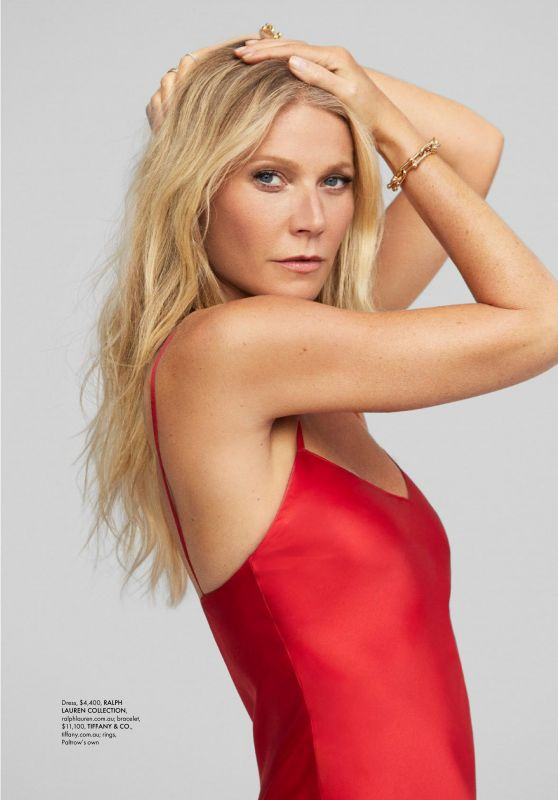 Gwyneth Paltrow - ELLE Magazine Australia January 2020 Issue