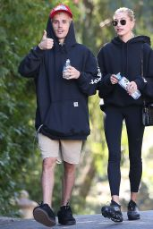 Hailey Rhode Bieber and Justin Bieber - Out in Los Angeles 01/12/2020