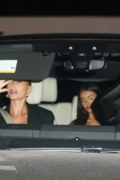 Hailey Rhode Bieber and Madison Beer - Leaving Craig