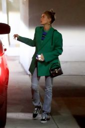 Hailey Rhode Bieber - Arrives for Wednesday Church Services in Beverly Hills 01/15/2020