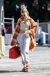 Hailey Rhode Bieber - Dance Studio in West Hollywood 01/29/2020