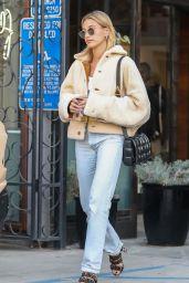 Hailey Rhode Bieber - Leaves Nine Zero One Hair Salon in LA 01/04/2020