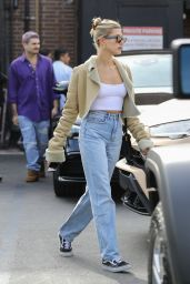 Hailey Rhode Bieber - Leaving Il Pastaio Italian Restaurant in Beverly Hills 01/18/2020