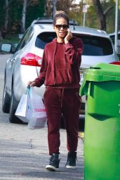 Halle Berry in Tracksuit 01/17/2020