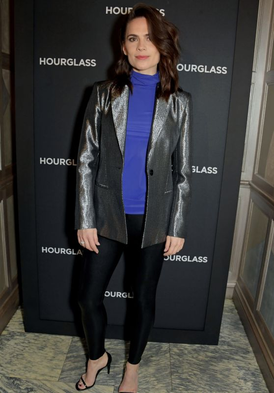Hayley Atwell - Hourglass Vanish Airbrush Concealer Launch Event in London 01/22/2020
